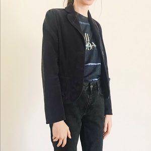 Marc Jacobs Navy Corduroy Blazer Jacket Coat